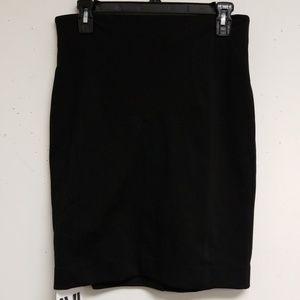 NWT MM Lafleur Black Lexington Skirt Size 4